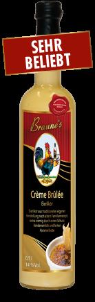 Eierlikör Crème Brulée - mit Kondensmilch -