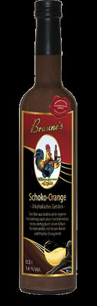 Eierlikör mit Kondensmilch - Schoko-Orange