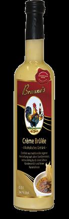 Eierlikör mit Kondensmilch - Crème Brulée