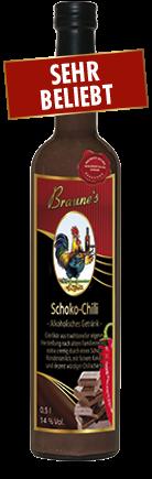 Schoko-Chili - alkoholisches Getränk -