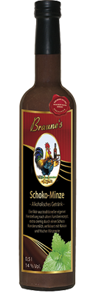 Schoko-Minze - alkoholisches Getränk -