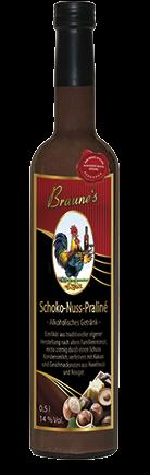 Schoko-Nuss-Praliné - alkholisches Getränk -