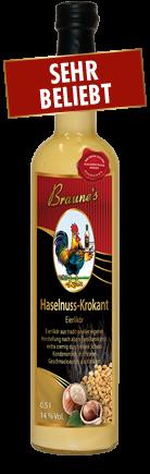 Eierlikör Haselnuss-Krokant - mit Kondensmilch -