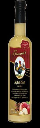 Eierlikör Apfel-Zimt- mit Kondensmilch -