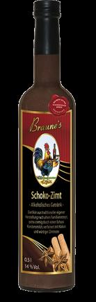 Schoko-Zimt - alkoholisches Getränk -