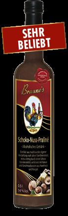 Schoko-Nuss-Praliné - alkoholisches Getränk -