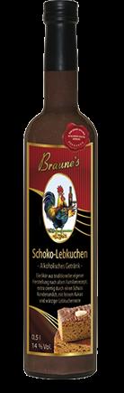 Schoko-Lebkuchen - alkoholisches Getränk -