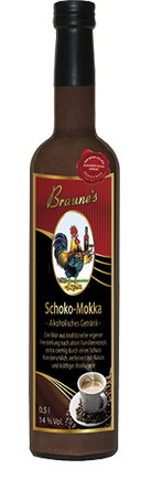 Schoko-Mokka - alkoholisches Getränk -