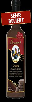 Schoko - alkoholisches Getränk -