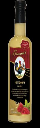 Eierlikör Himbeer - mit Kondensmilch -