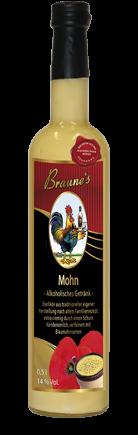 Mohn - alkoholisches Getränk -