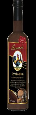 Eierlikör mit Kondensmilch - Schoko-Rum