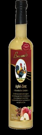 Eierlikör mit Kondensmilch - Apfel-Zimt