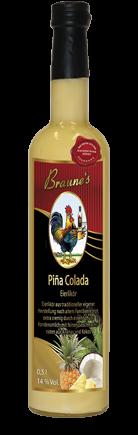 Eierlikör mit Kondensmilch - Piña Colada