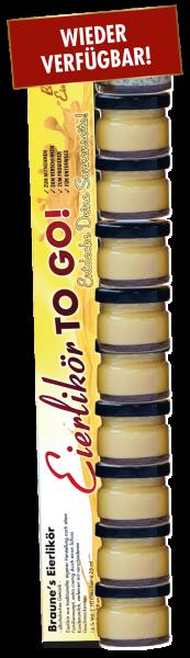 10 Probiergläschen Eierlikör-Mix